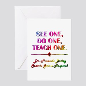 SEE ONE... Greeting Card