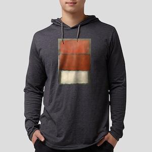 ROTHKO RED_RUST Long Sleeve T-Shirt