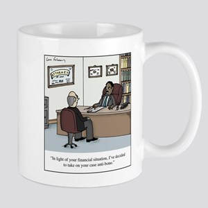 Anti-Bono Lawyer 11 oz Ceramic Mug