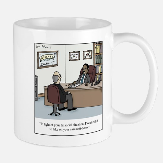 Anti-Bono Lawyer Mug