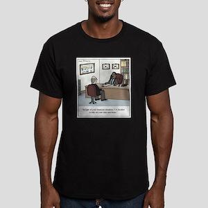 Anti-Bono Lawyer Men's Fitted T-Shirt (dark)