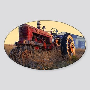 tractor Sticker (Oval)