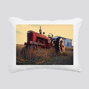 tractor Rectangular Canvas Pillow
