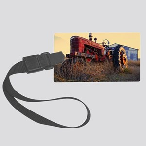 tractor Large Luggage Tag