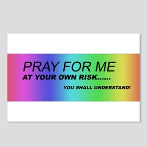 Pray for Me Postcards (Package of 8)
