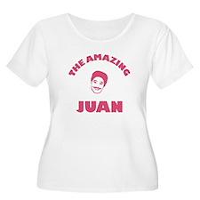 Original Amazing Juan Design - PINK Plus Size T-Sh
