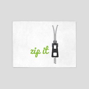 Zip It 5'x7'Area Rug