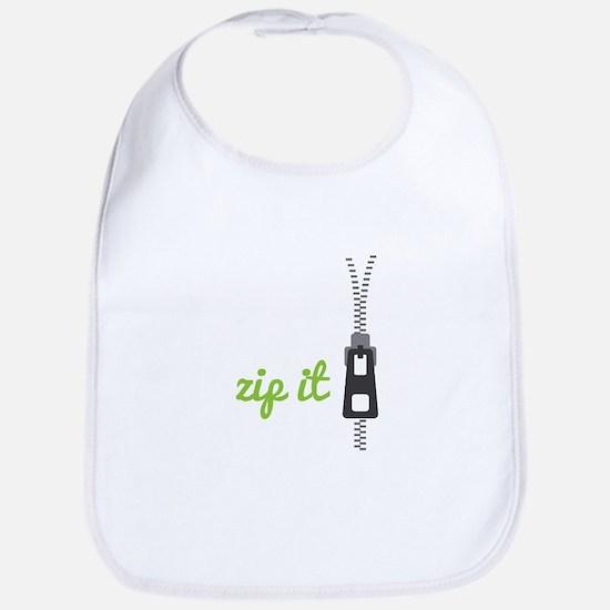 Zip It Bib