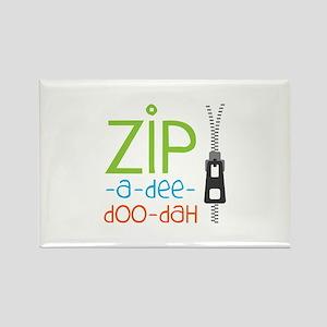 Zipper Zip Magnets