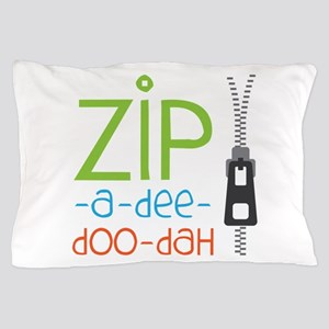 Zipper Zip Pillow Case