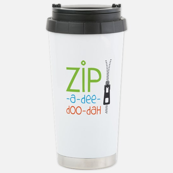 Zipper Zip Travel Mug