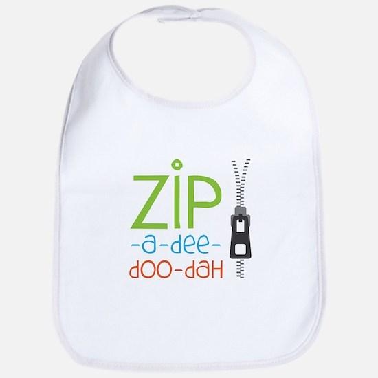 Zipper Zip Bib