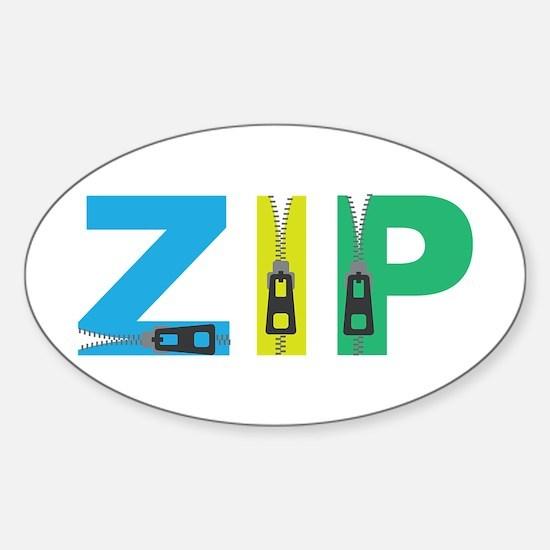 Zip Decal