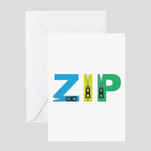 Zip Greeting Cards