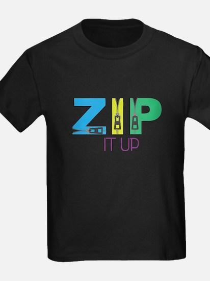 Zip It Up T-Shirt