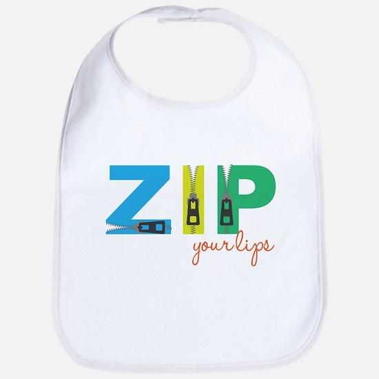 Zip Your Lips Bib