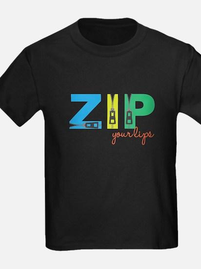 Zip Your Lips T-Shirt