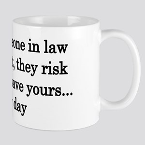 Thank law enforcement - Light colors Mug