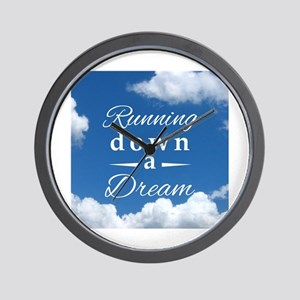 Running Down a Dream Wall Clock