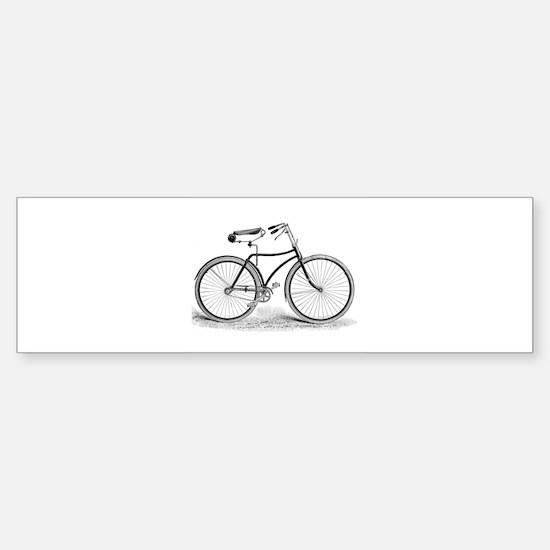 Vintage Bicycle Bumper Bumper Bumper Sticker