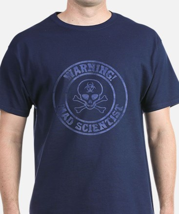 Mad Scientist Warning T-Shirt