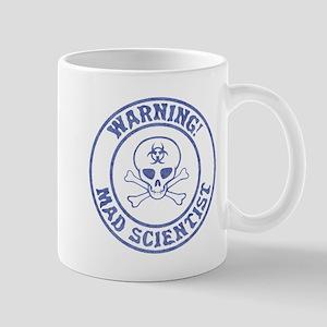 Mad Scientist Warning Mugs