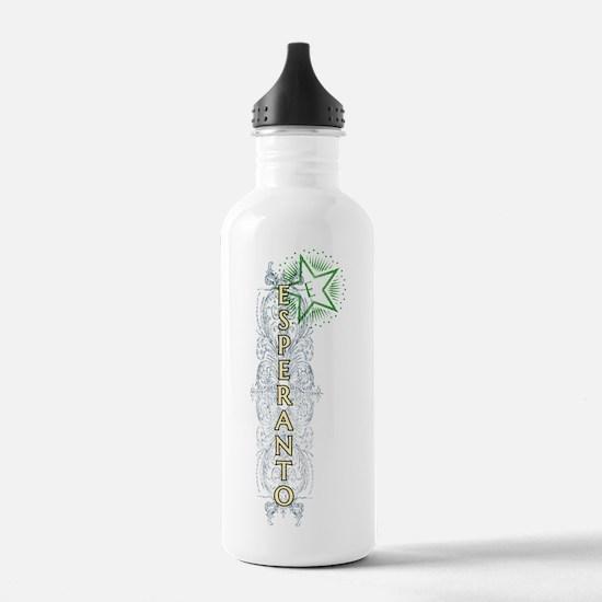 Cute Esperanto Water Bottle