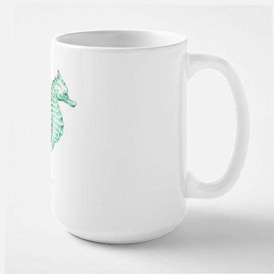 Seahorses Large Mug