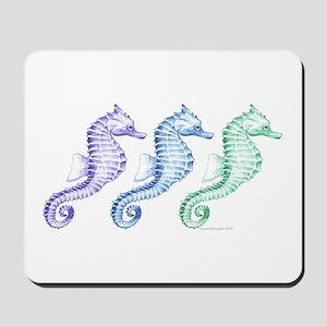 Seahorses Mousepad