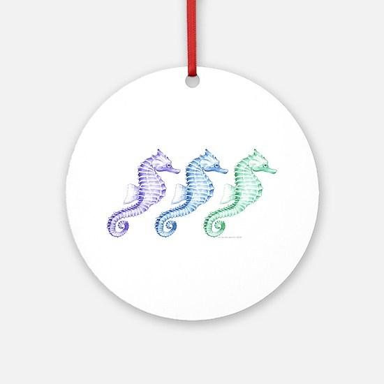 Seahorses Ornament (Round)