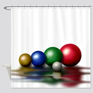 Colorful Balls Shower Curtain