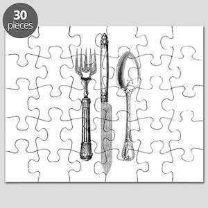 Vintage Cutlery Puzzle