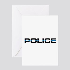 Police Greeting Cards