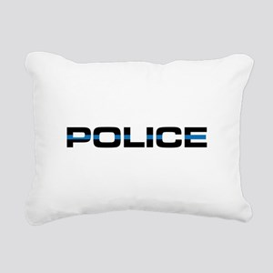 Police Rectangular Canvas Pillow