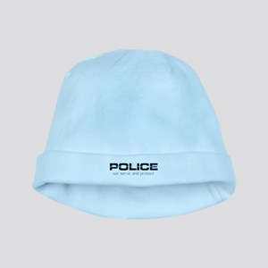 We Serve And Protect baby hat