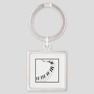 Winding Piano Keychains
