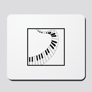 Winding Piano Mousepad