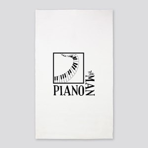 The Piano Man 3'x5' Area Rug