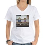 Dog Person Women's V-Neck T-Shirt