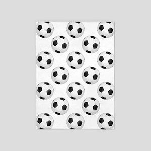 Soccer Balls 5'x7'area Rug