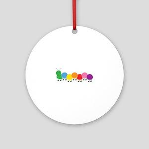 Bright Caterpillar Ornament (Round)