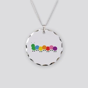 Bright Caterpillar Necklace