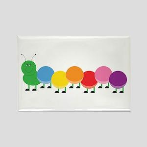 Bright Caterpillar Magnets