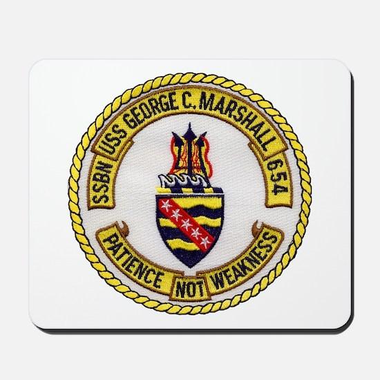 USS GEORGE C. MARSHALL Mousepad