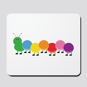 Bright Caterpillar Mousepad
