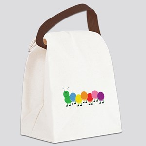 Bright Caterpillar Canvas Lunch Bag