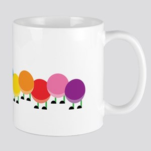 Bright Caterpillar Mugs
