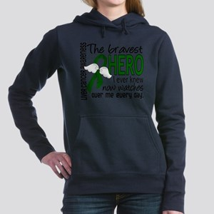 Bravest Hero I Knew Liver Cancer Sweatshirt