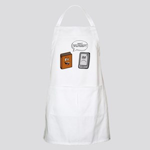 Book vs eBook Apron