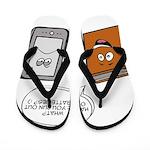 Book vs eBook Flip Flops